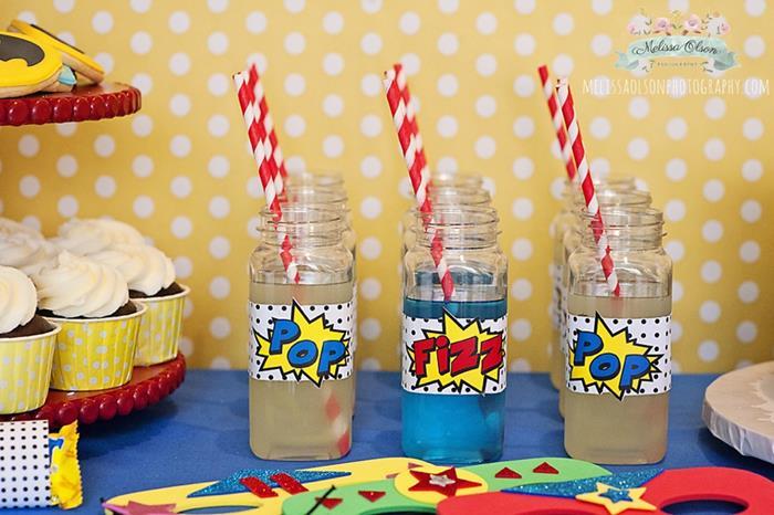 Festa do batman simples e charmosa corujices for 5th birthday decoration ideas