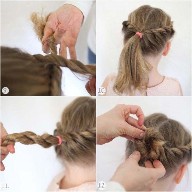 Ideias Para Penteados Em Meninas Corujices