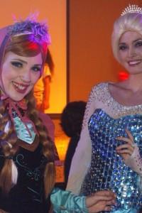 Frozen da bezerproducoes ontem na Festa do Pijama no hotelvillageportohellip