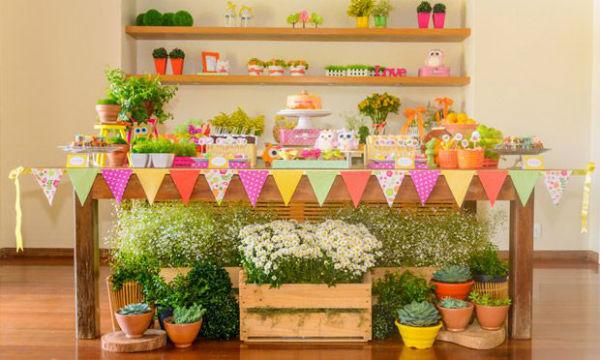 Pallets um charme tamb m na decora o de festas infantis for Decoracion infantil barata
