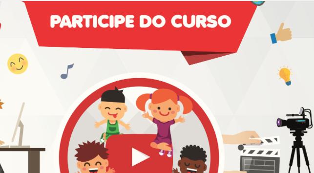 curso youtuber para crianças